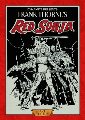 FRANK THORNE RED SONJA VOLUME 1 ARTIST EDITION HARDCOVER