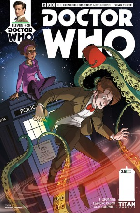 DOCTOR WHO 11TH YEAR THREE #5