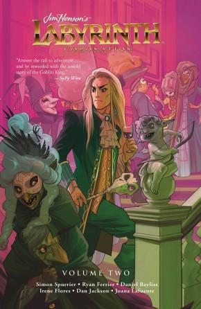 JIM HENSON LABYRINTH CORONATION VOLUME 2 GRAPHIC NOVEL