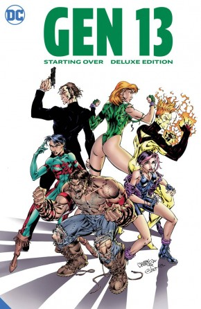 GEN 13 STARTING OVER THE DELUXE EDITION HARDCOVER