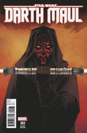 STAR WARS DARTH MAUL #3 (2017 SERIES) SHALVEY 1 IN 25 INCENTIVE VARIANT COVER
