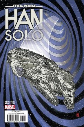 STAR WARS HAN SOLO #2 (OF 5) MILLENIUM FALCON VARIANT