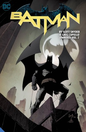 BATMAN BY SCOTT SNYDER AND GREG CAPULLO OMNIBUS VOLUME 2 HARDCOVER