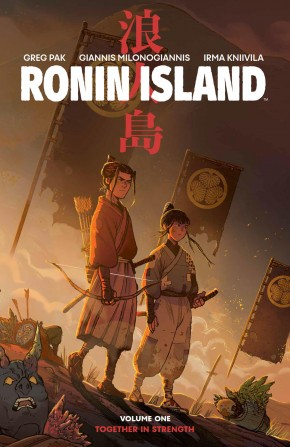 RONIN ISLAND VOLUME 1 GRAPHIC NOVEL