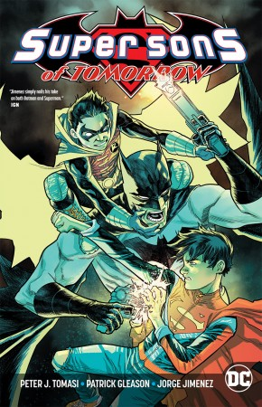SUPER SONS OF TOMORROW REBIRTH GRAPHIC NOVEL