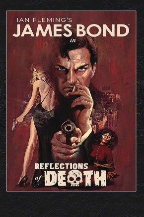 JAMES BOND REFLECTIONS OF DEATH HARDCOVER