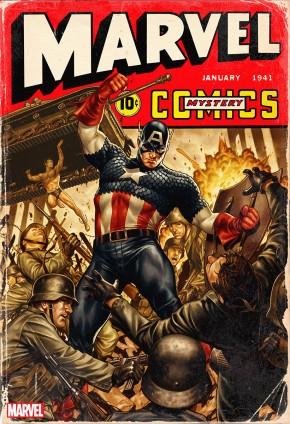 MARVEL COMICS #1000 BROOKS 40S VARIANT
