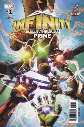 INFINITY COUNTDOWN PRIME #1 2ND PRINTING