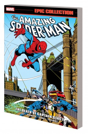 AMAZING SPIDER-MAN EPIC COLLECTION THE DEATH OF CAPTAIN STACY GRAPHIC NOVEL