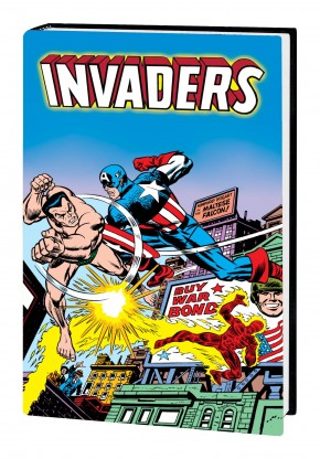 INVADERS OMNIBUS HARDCOVER JACK KIRBY DM VARIANT COVER