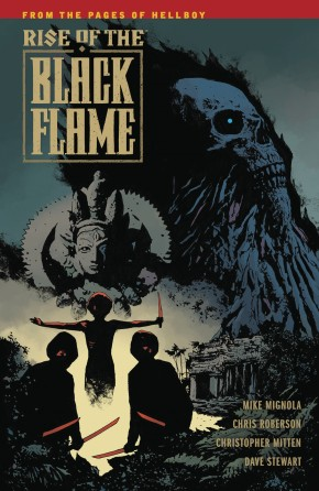 RISE OF THE BLACK FLAME GRAPHIC NOVEL