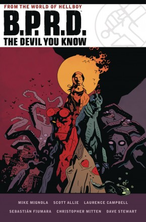 BPRD DEVIL YOU KNOW OMNIBUS HARDCOVER
