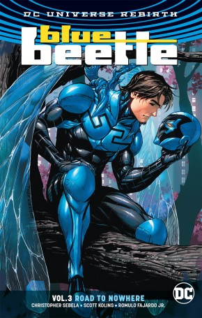 BLUE BEETLE VOLUME 3 ROAD TO NOWHERE GRAPHIC NOVEL