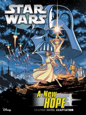 STAR WARS A NEW HOPE GRAPHIC NOVEL (IDW EDITION)