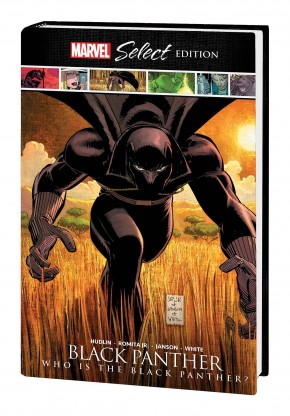 BLACK PANTHER WHO IS BLACK PANTHER MARVEL SELECT HARDCOVER