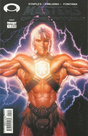MASTERS OF THE UNIVERSE #1 (2003 SERIES) COVER B