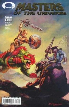 MASTERS OF THE UNIVERSE #4 (2003 SERIES) COVER B