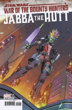 STAR WARS WAR BOUNTY HUNTERS JABBA HUTT #1 COELLO 1 IN 25 INCENTIVE VARIANT