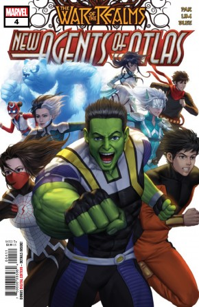 WAR OF THE REALMS NEW AGENTS OF ATLAS #4