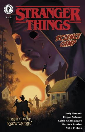STRANGER THINGS SCIENCE CAMP #1