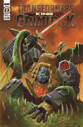 TRANSFORMERS KING GRIMLOCK #2 COVER A