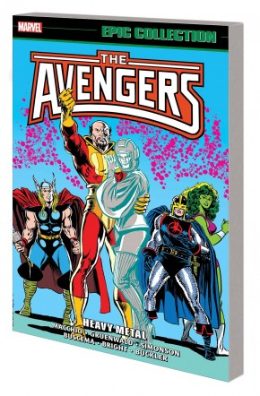 AVENGERS EPIC COLLECTION HEAVY METAL GRAPHIC NOVEL