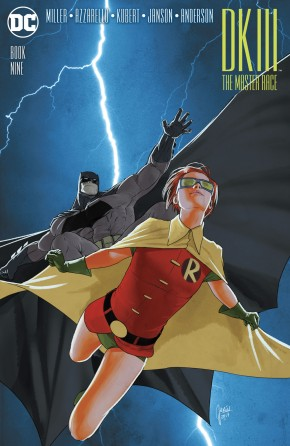 DARK KNIGHT III MASTER RACE #9 JANIN 1 IN 10 INCENTIVE VARIANT COVER