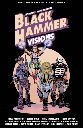 BLACK HAMMER VISIONS VOLUME 2 HARDCOVER