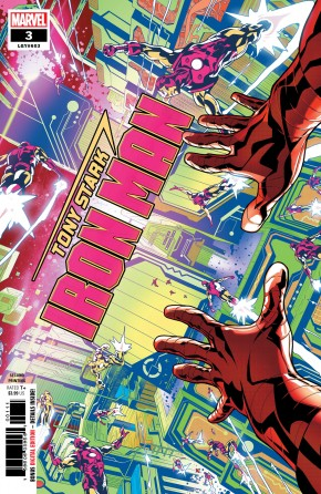 TONY STARK IRON MAN #3 2ND PRINTING