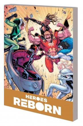 HEROES REBORN AMERICA MIGHTIEST HERO COMPANION VOLUME 1 GRAPHIC NOVEL