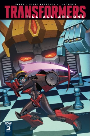 TRANSFORMERS TILL ALL ARE ONE #3 1 IN 10 INCENTIVE VARIANT COVER