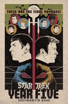 STAR TREK YEAR FIVE VOLUME 1 ODYSSEYS END GRAPHIC NOVEL