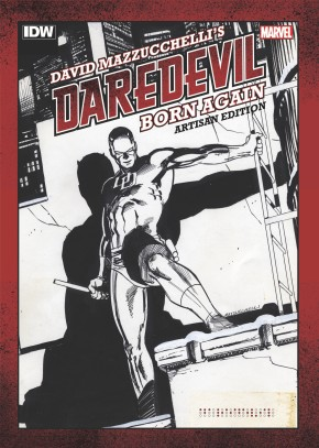 DAVID MAZZUCHELLIS DAREDEVIL BORN AGAIN ARTISAN EDITION GRAPHIC NOVEL