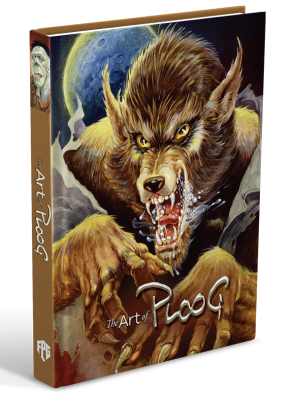 ART OF MIKE PLOOG VOLUME 1 WEREWOLF EDITION SIGNED AND NUMBERED DELUXE PADDED HARDCOVER