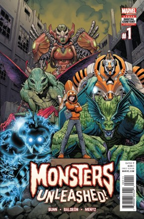 MONSTERS UNLEASHED #1 (2017 SERIES)