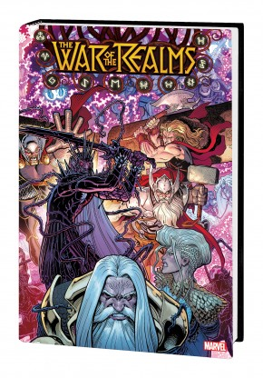 WAR OF THE REALMS OMNIBUS HARDCOVER ART ADAMS DM VARIANT COVER