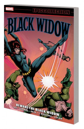 BLACK WIDOW EPIC COLLECTION BEWARE THE BLACK WIDOW GRAPHIC NOVEL