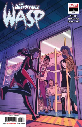 UNSTOPPABLE WASP #6 (2018 SERIES)