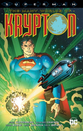 SUPERMAN THE MANY WORLDS OF KRYPTON GRAPHIC NOVEL
