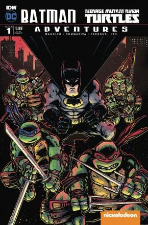 BATMAN TEENAGE MUTANT NINJA TURTLES ADVENTURES #1 SUBSCRIPTION COVER A
