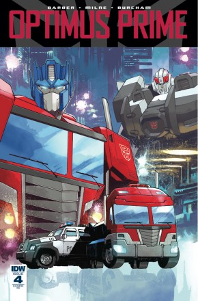 OPTIMUS PRIME #4 1 IN 10 INCENTIVE VARIANT COVER