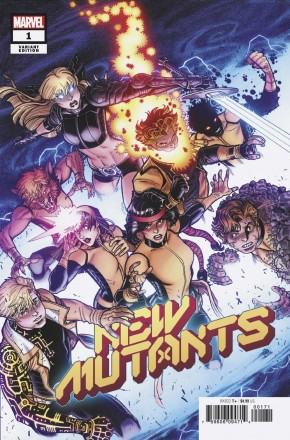NEW MUTANTS #1 BRADSHAW 1 IN 25 INCENTIVE VARIANT
