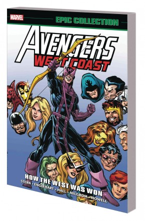 AVENGERS WEST COAST EPIC COLLECTION HOW THE WEST WAS WON GRAPHIC NOVEL