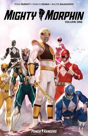 MIGHTY MORPHIN VOLUME 1 GRAPHIC NOVEL