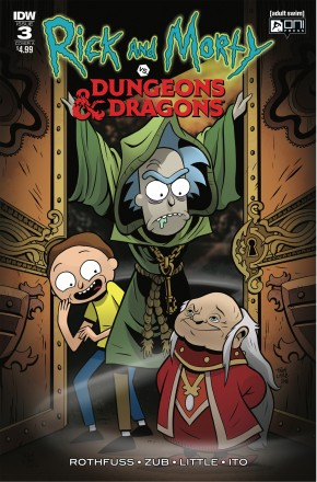 RICK & MORTY VS DUNGEONS & DRAGONS #3
