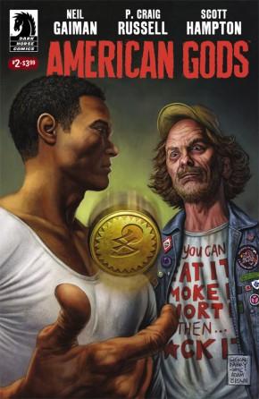 NEIL GAIMAN AMERICAN GODS SHADOWS #2