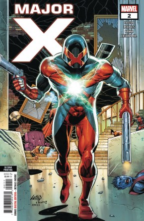 MAJOR X #2 (2ND PRINTING)