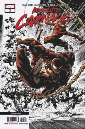 ABSOLUTE CARNAGE #2 2ND PRINTING