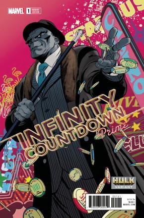INFINITY COUNTDOWN PRIME #1 MARTIN HULK VARIANT