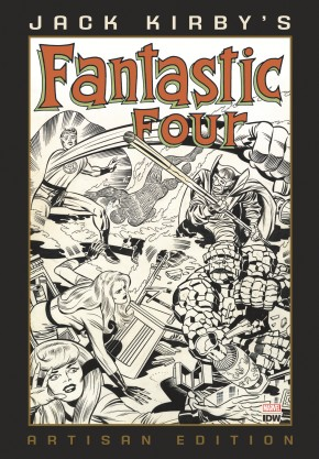 JACK KIRBY FANTASTIC FOUR ARTISAN EDITION HARDCOVER